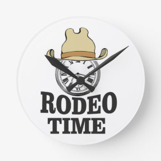 hat rodeo time clock