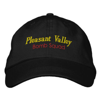 Hat Satire Bomb Squad Cap Explosives Fireworks Embroidered Baseball Cap