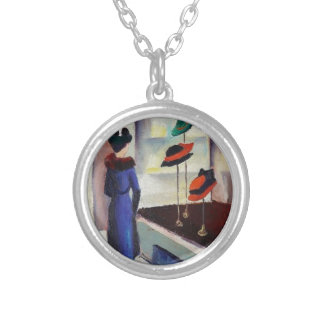 Hat Shop - August Macke Silver Plated Necklace