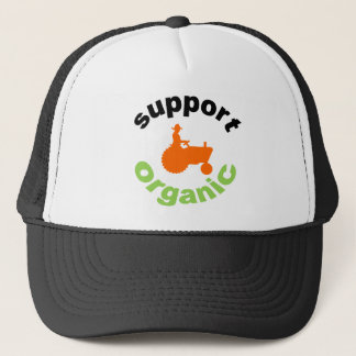 Hat, Support Organic Trucker Hat