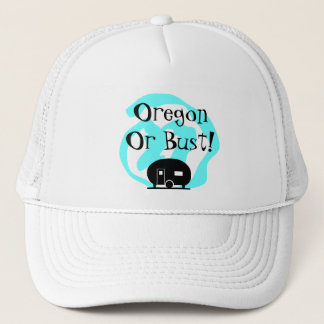 Hat Travel Trailer Oregon or bust OR Trip camp