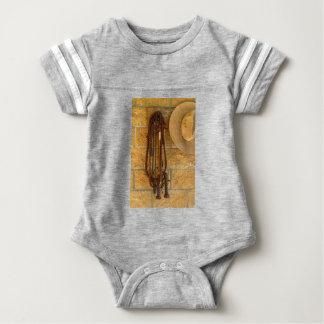 HAT &  WHIP QUEENSLAND AUSTRALIA BABY BODYSUIT