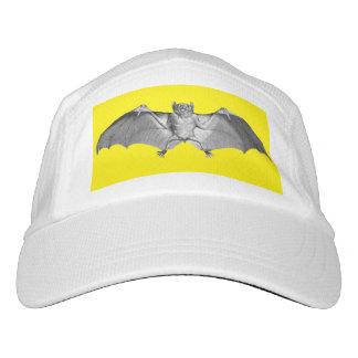 Hat with a Bat Vintage Illustration