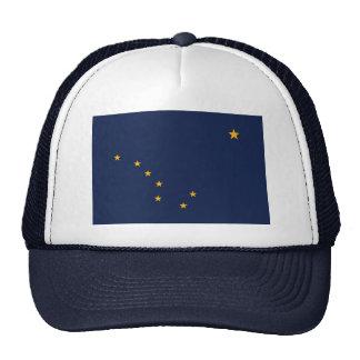 Hat with Flag of  Alaska State - USA