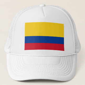 Hat with Flag of Colombia