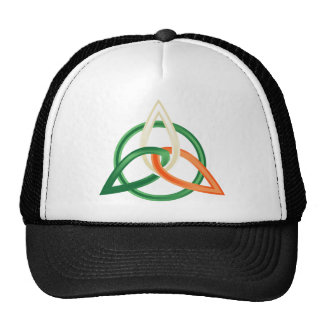 Hat with St Patrick's ornament