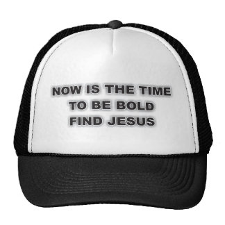Hat With Unique Christian Quote