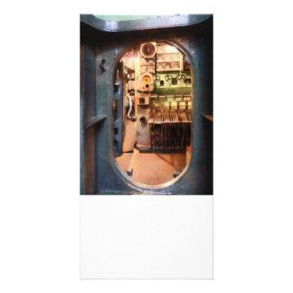 Hatch in Submarine Photo Card