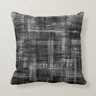 Hatch - Shades of Gray Throw Pillow
