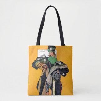Hatcheck Girl Tote Bag