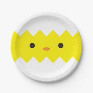 Hatched Chick Paper Plates