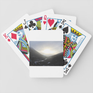 Hatcher Pass view Alaska Bicycle Playing Cards
