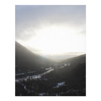 Hatcher Pass view Alaska Letterhead