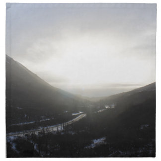 Hatcher Pass view Alaska Napkin