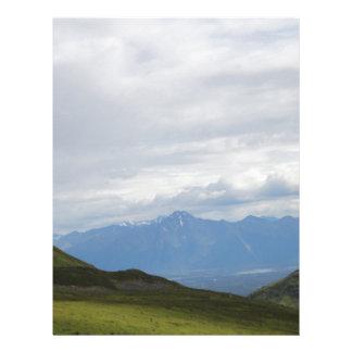 Hatchers Pass Mountain View Alaska Letterhead Design