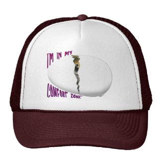 Hatching Egg Comfort Zone Trucker Hats