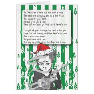 Hate Christmas Card