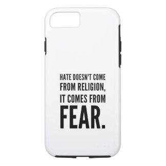 Hate doesn't come from religion Case-Mate iPhone case