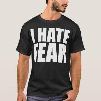 Hate Fear front, Fear Hate back - Dark T-Shirt