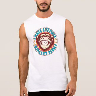 Hate Lettuce Monkey Sleeveless Shirt