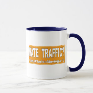 Hate Traffic Mug