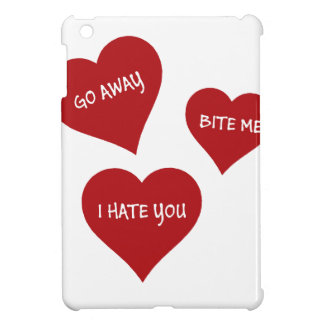 Hate Valentines iPad Mini Cases