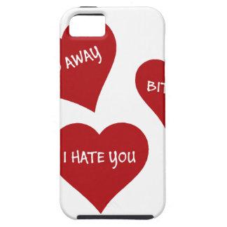Hate Valentines iPhone 5 Case