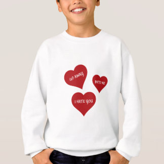 Hate Valentines Sweatshirt