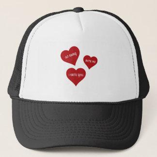 Hate Valentines Trucker Hat