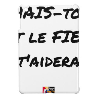 HATE YOURSELF AND GALL WILL HELP You - Word games Case For The iPad Mini