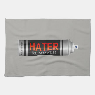 Hater remover. hand towels