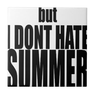 hater summer end vacation flirt romance couple bla ceramic tile