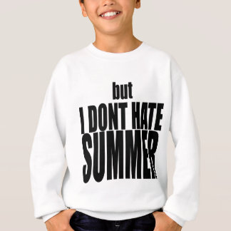 hater summer end vacation flirt romance couple bla sweatshirt