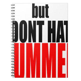 hater summer end vacation flirt romance couple red notebook