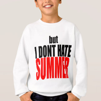 hater summer end vacation flirt romance couple red sweatshirt