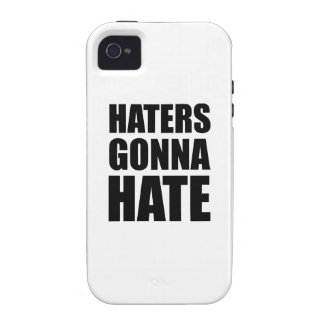 Haters Gonna Hate iPhone 4/4S Cases