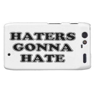 Haters Gonna Hate Motorola Droid RAZR Case