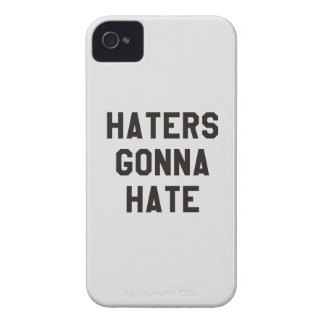 Haters gonna hate iPhone 4 cases