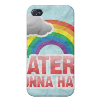HATERS GONNA HATE - png iPhone 4 Cases