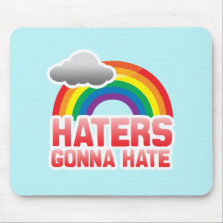 HATERS GONNA HATE - png Mousepads