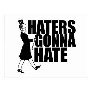 Haters gonna Hate Postcard