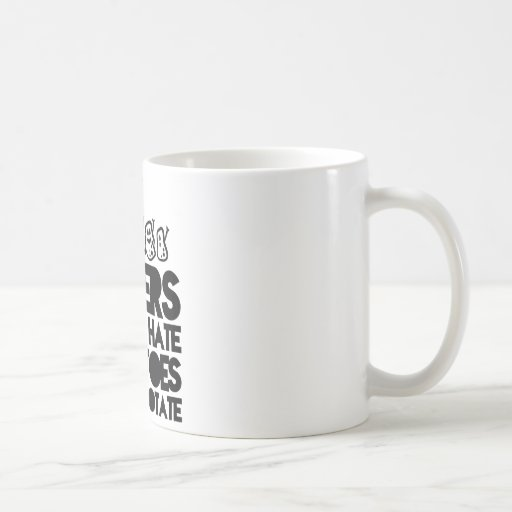Haters gonna hate, potatoes gonna potate mugs