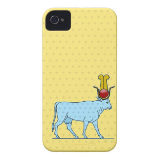 Hathor, Ancient Egyptian Goddess iPhone 4 Covers