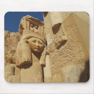 Hathor column - Queen Hatshepsut's Temple, egypt Mouse Pad
