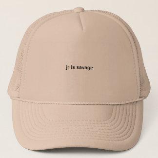 hatkidsavageking trucker hat