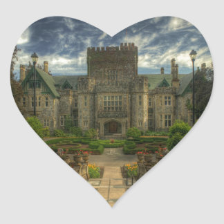 Hatley Castle Heart Sticker