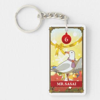 Hatoful Advent calendar 6: Mr.Sasai Keychain