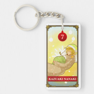 Hatoful Advent calendar 7: Kazuaki Nanaki Double-Sided Rectangular Acrylic Keychain