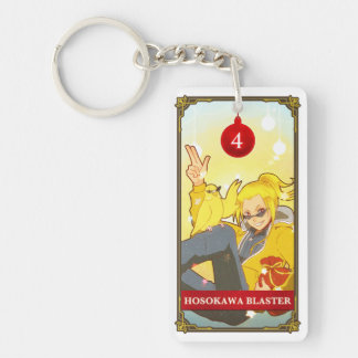 Hatoful Advent Rabu-Azami Double-Sided Rectangular Acrylic Keychain