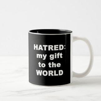 Hatred Two-Tone Coffee Mug